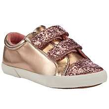 Buy John Lewis Girl Leah Glitter Trainers Online at johnlewis.com
