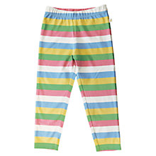 Buy Frugi Fancy Stripe Leggings, Multi Online at johnlewis.com