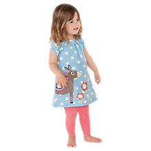 Buy Frugi Lucy Donkey Dress, Blue Online at johnlewis.com