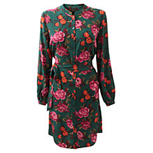 Buy East Emilia Silk Print Shirt Dress, Ivy Online at johnlewis.com