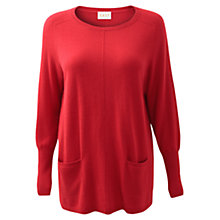Buy East Oversize Pocket Jumper Online at johnlewis.com