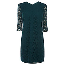 Buy Oasis Amelia Shift Dress, Indigo Online at johnlewis.com