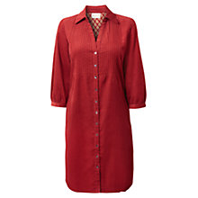 Buy East Pintuck Corduroy Dress, Red Online at johnlewis.com