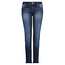 Buy Mango Super Slim Dark Jeans Online at johnlewis.com