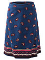 East Nyla Corduroy Skirt, Deep Blue