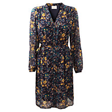 Buy East Paige Print Tie Waist Dress, Multi Online at johnlewis.com