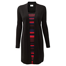 Buy East Merino 2-in-1 Tunic Dress, Black Online at johnlewis.com