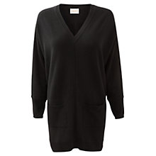 Buy East Slouchy Placket Tunic Jumper Online at johnlewis.com