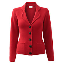 Buy East Moss Stitch Wool Jacket, Red Online at johnlewis.com