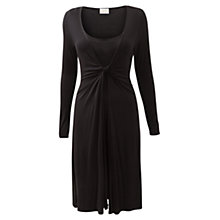 Buy East Double Layer Dress, Black Online at johnlewis.com
