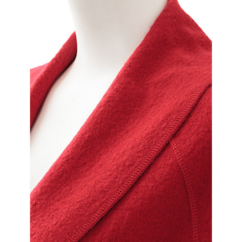 Buy East Wool Shawl Coat, Lipstick Online at johnlewis.com
