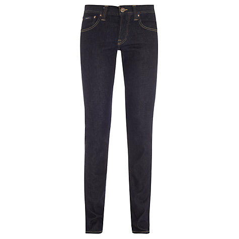 Buy Pepe Jeans Cane Slim Jeans, Dark Raw Online at johnlewis.com