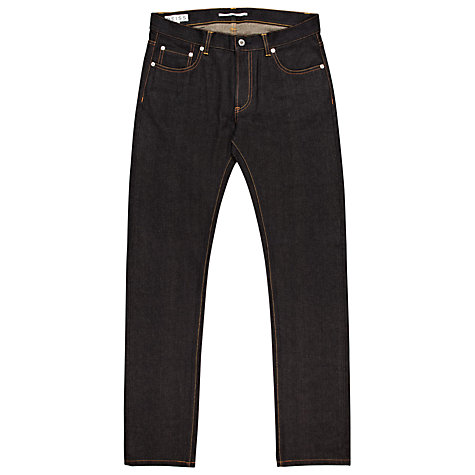 Buy Reiss Bath Selvage Jeans, Indigo Blue Online at johnlewis.com
