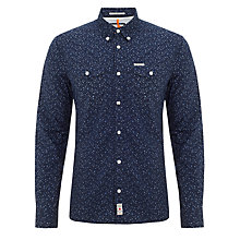 Buy Pepe Jeans Michael Floral Print Shirt, Dark Blue Online at johnlewis.com
