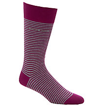 Buy BOSS Striped Socks Online at johnlewis.com