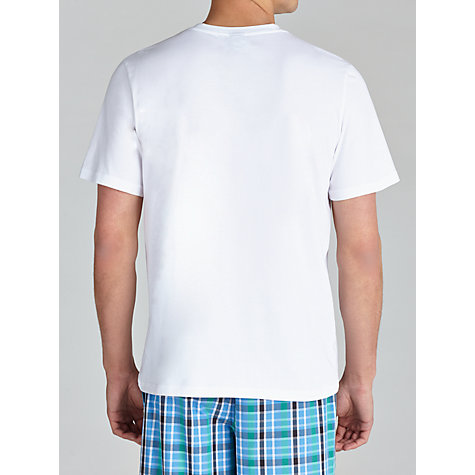 Buy BOSS Crew Neck T-Shirt, White Online at johnlewis.com