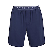Buy BOSS Jersey Shorts, Navy Online at johnlewis.com