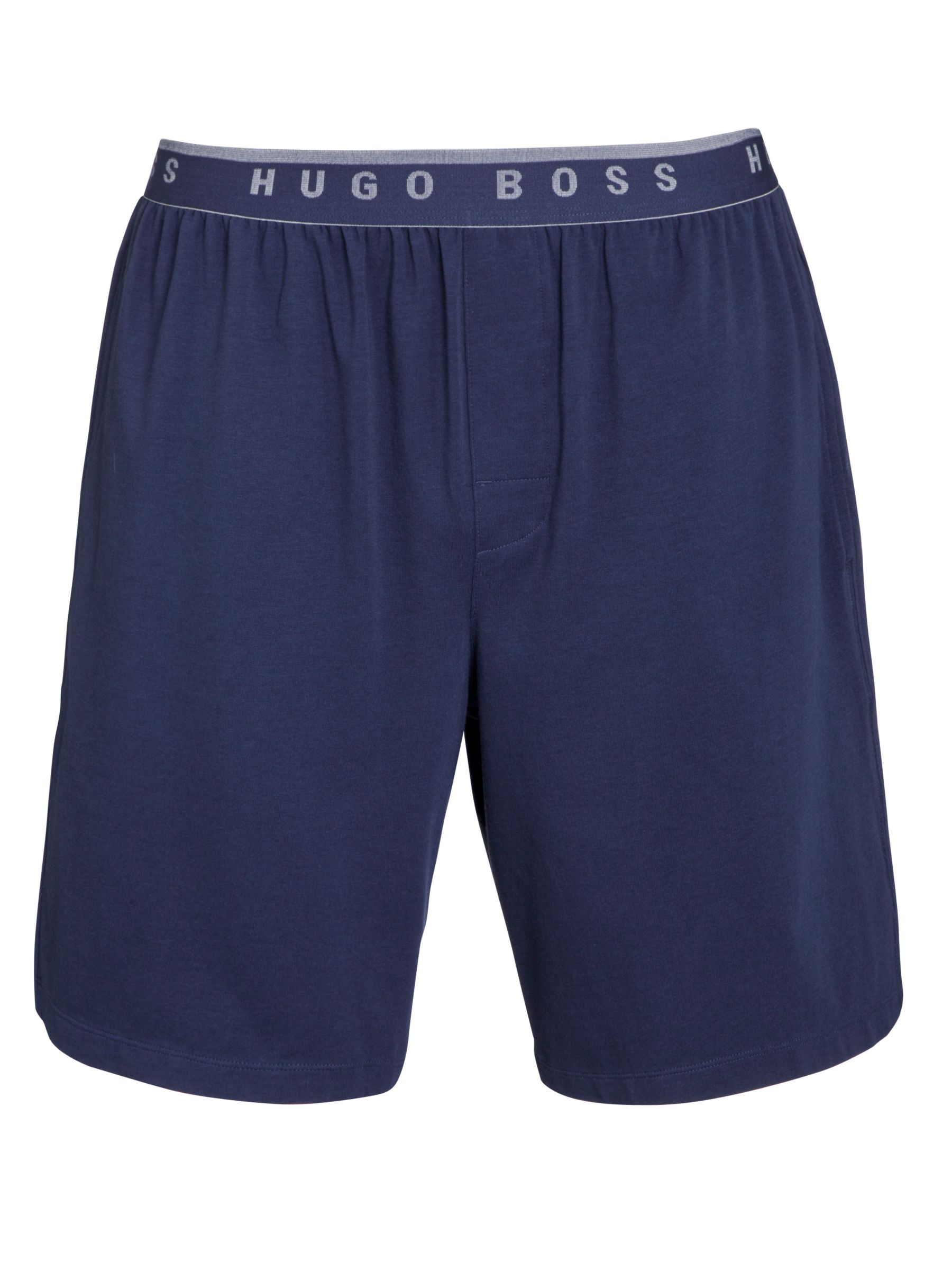 Hugo Boss Jersey Shorts, Navy