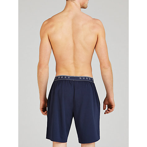 Buy Hugo Boss Jersey Shorts, Navy Online at johnlewis.com