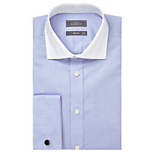Buy John Lewis Luxury Royal Oxford Winchester Long Sleeve Shirt, Blue Online at johnlewis.com