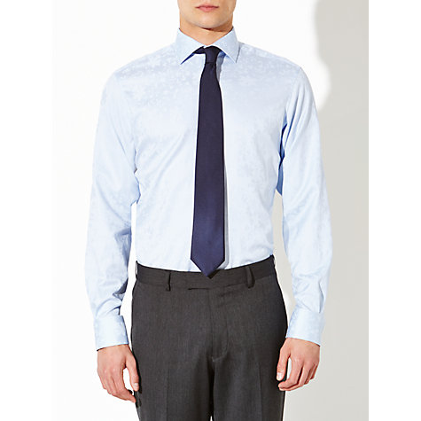 Buy John Lewis Luxury Jacquard Shirt Online at johnlewis.com