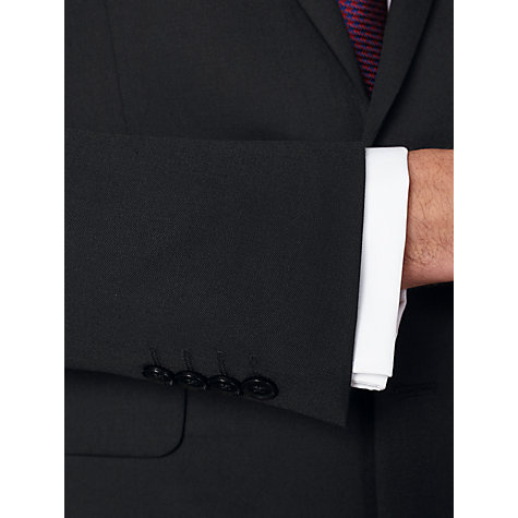 Buy John Lewis Washable Tailored Suit Jacket, Black Online at johnlewis.com
