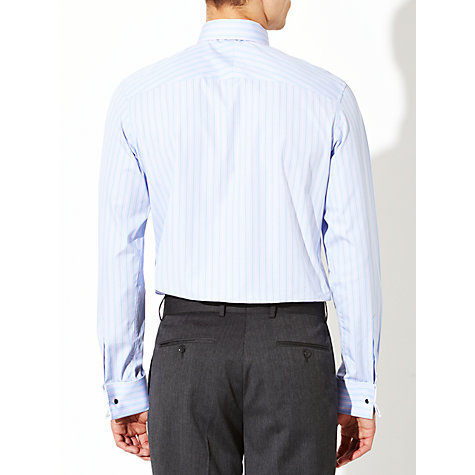 Buy John Lewis Luxury Fine Stripe Long Sleeve Shirt with Cufflinks Online at johnlewis.com