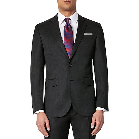 Buy John Lewis Washable Tailored Suit Jacket, Charcoal Online at johnlewis.com