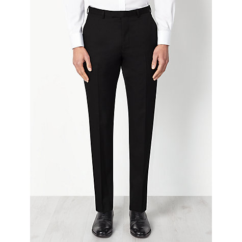 Buy John Lewis Washable Tailored Suit Trousers, Black Online at johnlewis.com