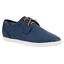 Buy John Lewis Boy Oswald Lace-Up Shoes, Navy Online at johnlewis.com