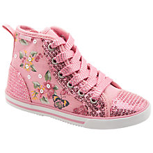 Buy Start-rite Frangipani Canvas Hi-Tops Online at johnlewis.com