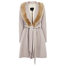 Buy Coast Zabrina Coat, Neutral Online at johnlewis.com