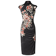 Buy Phase Eight Mimiko Dress, Black/Blush Online at johnlewis.com