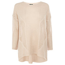 Buy Warehouse Rib Front Jumper Online at johnlewis.com