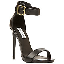 Buy Steve Madden Marlenee Sandals, Black Online at johnlewis.com