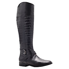 Buy Carvela Wobble Knee Boots, Black Online at johnlewis.com