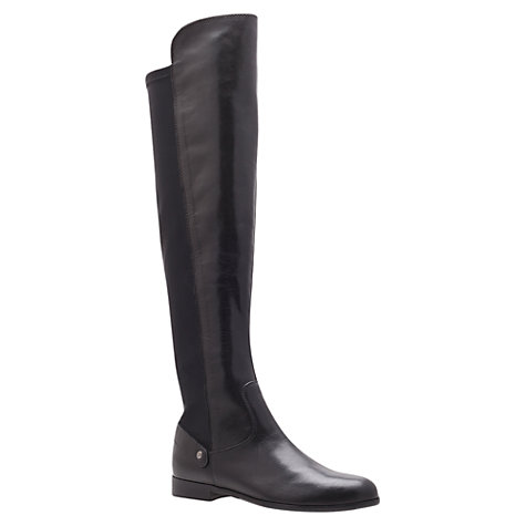 Buy Carvela Wood Leather Knee Boots Online at johnlewis.com