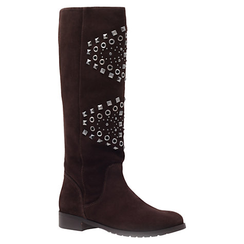 Buy Carvela Whist Knee Boots, Brown Online at johnlewis.com