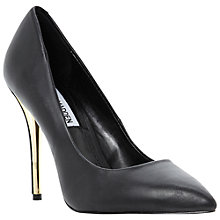 Buy Steve Madden Leena Court Shoes, Black Online at johnlewis.com