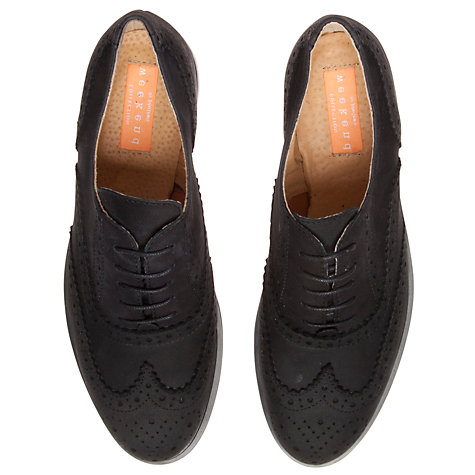 Buy Collection WEEKEND by John Lewis Triomphe Nero Nubuck Lace Brogues, Navy Online at johnlewis.com