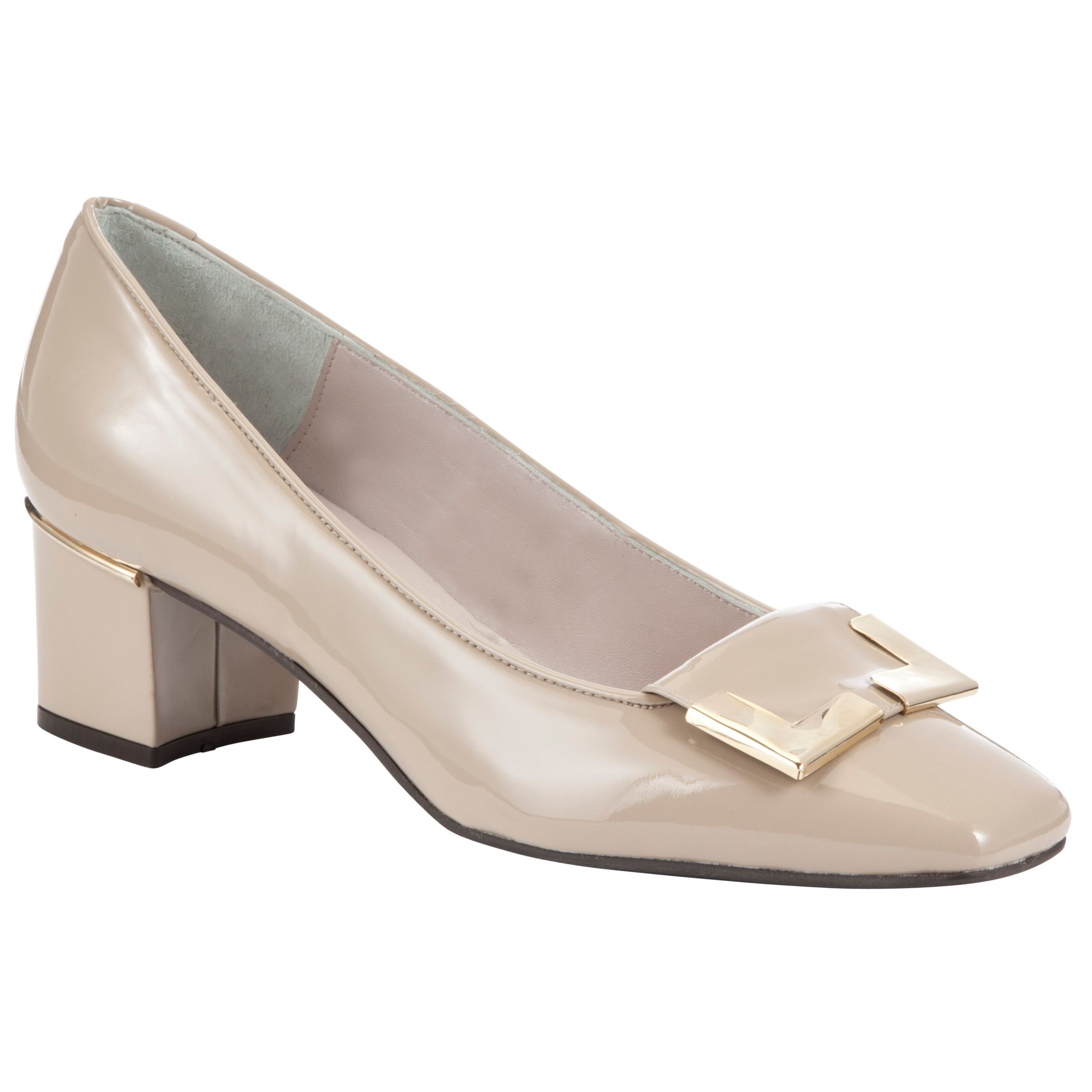 Collection By John Lewis Camera Court Shoes, Nude