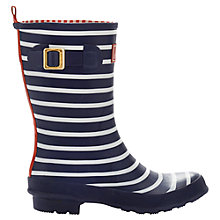 Buy Joules Molly Short Wellington Boots, Navy Online at johnlewis.com