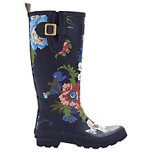 Buy Joules Welly Print Wellington Boots Online at johnlewis.com