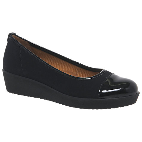 Buy Gabor Orient Pump Shoes, Black Online at johnlewis.com