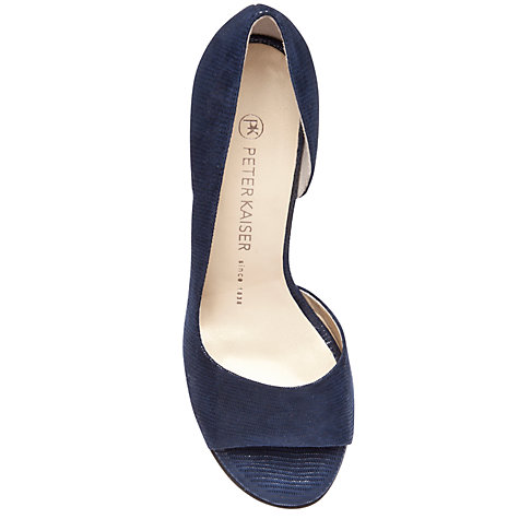 Buy Peter Kaiser Jamala Open Toe Court Shoes Online at johnlewis.com