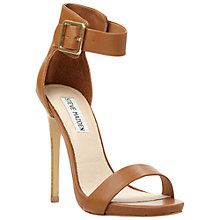 Buy Steve Madden Marlenee Sandals, Tan Online at johnlewis.com