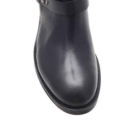 Buy Carvela Wizard Calf Boots, Black Online at johnlewis.com