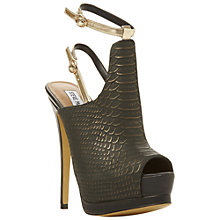 Buy Steve Madden Wexlerr Sandals, Black Online at johnlewis.com
