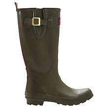 Buy Joules Field Rubber Wellington Boots, Olive Online at johnlewis.com