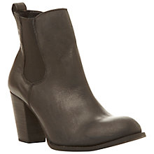 Buy Steve Madden Lambii Ankle Boots, Black Online at johnlewis.com